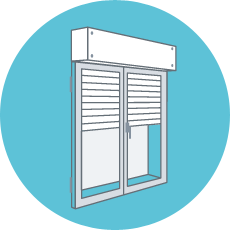 Roller shutter motorisation to install by yourself