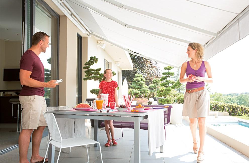 Stores De Terrasse : Somfy, Spécialiste De La Motorisation De Stores